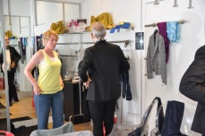 Dressing room for the makeover - relooking
