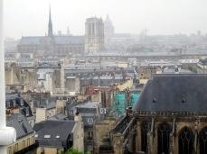 City skyline from George Pompidou Centre
