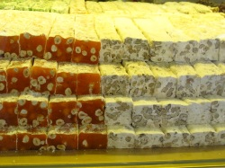It's Turkish Delight - not nougat